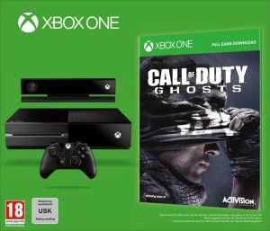 Xbox One + CoD Ghosts