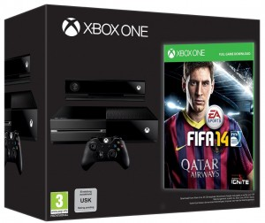 Xbox One + Fifa 14 day one
