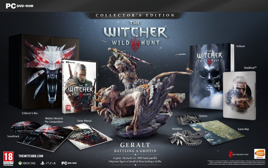 the witcher 3 collector